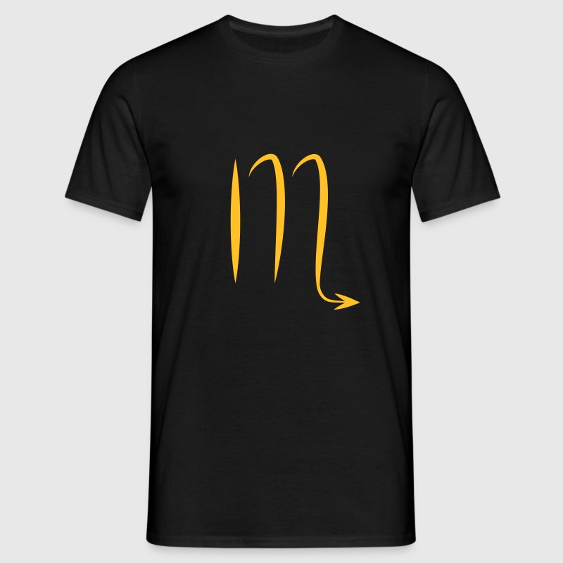 scorpion zodiacal astrologie Tee shirts - T-shirt Homme