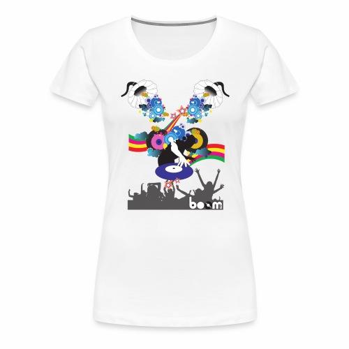 Felpa Music-Color - Maglietta Premium da donna