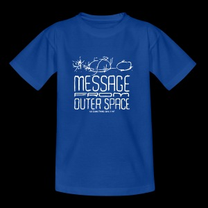 Message From Outer Space (white) - T-skjorte for barn