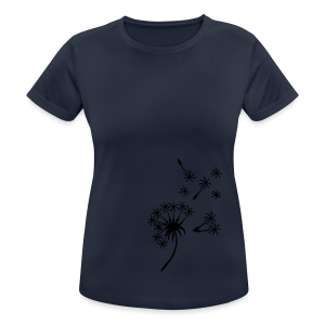 Pusteblumenshirt - Frauen T-Shirt atmungsaktiv