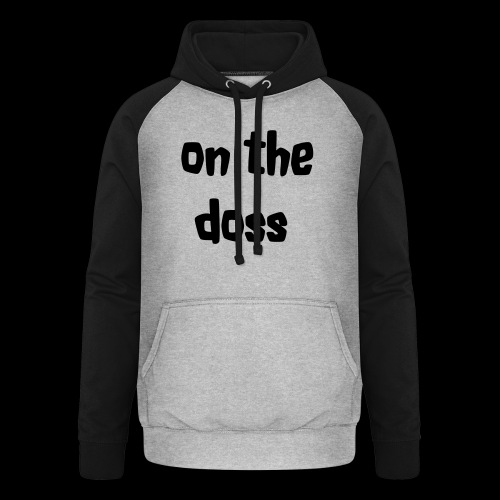 On the Doss Glow in the Dark - Unisex Baseball Hoodie