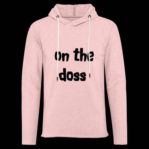 On the Doss Glow in the Dark - Light Unisex Sweatshirt Hoodie