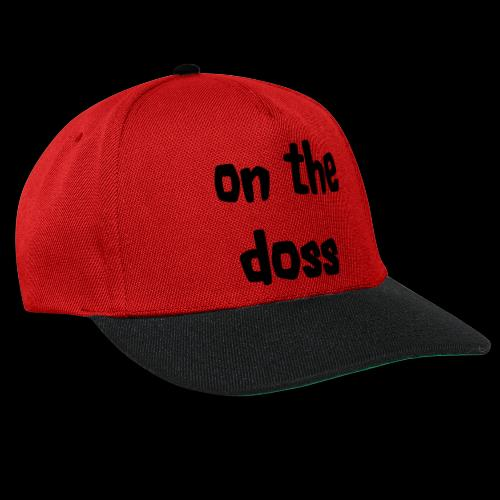 On the Doss Glow in the Dark - Snapback Cap