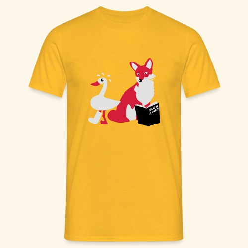 Slow Food, Teenie - Männer T-Shirt