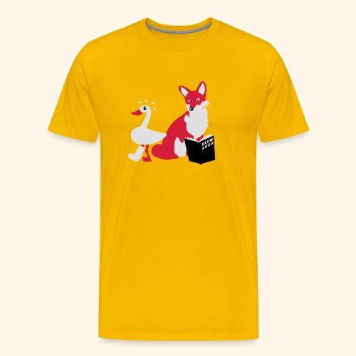 Slow Food, Teenie - Männer Premium T-Shirt