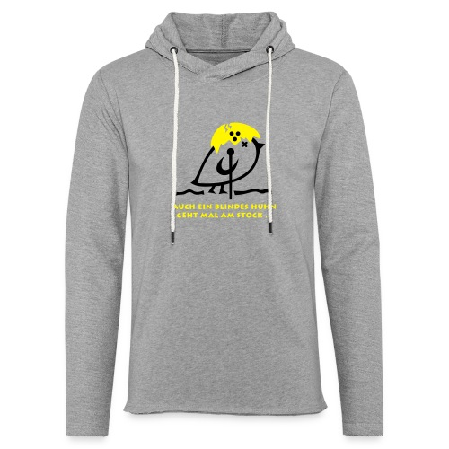TWEETLERCOOLS - Blindes Huhn - Leichtes Kapuzensweatshirt Unisex