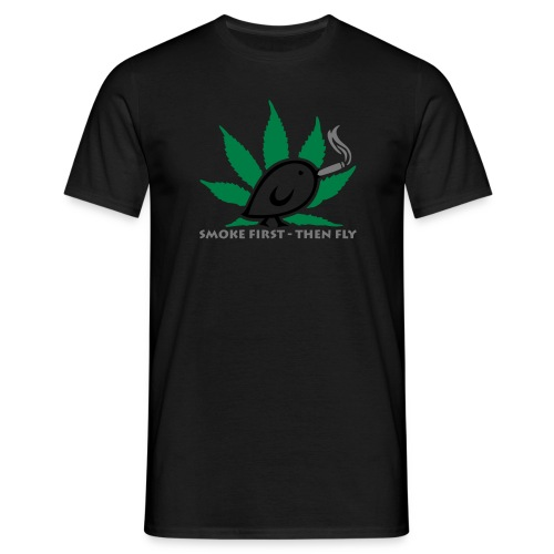 TWEETLERCOOLS - smoke first - Männer T-Shirt