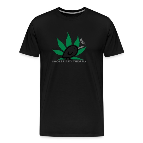 TWEETLERCOOLS - smoke first - Männer Premium T-Shirt