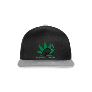 TWEETLERCOOLS - smoke first - Snapback Cap
