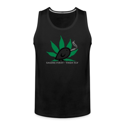 TWEETLERCOOLS - smoke first - Männer Premium Tank Top