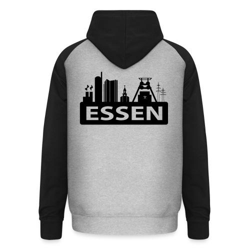 Skyline Essen - T-Shirt - Unisex Baseball Hoodie