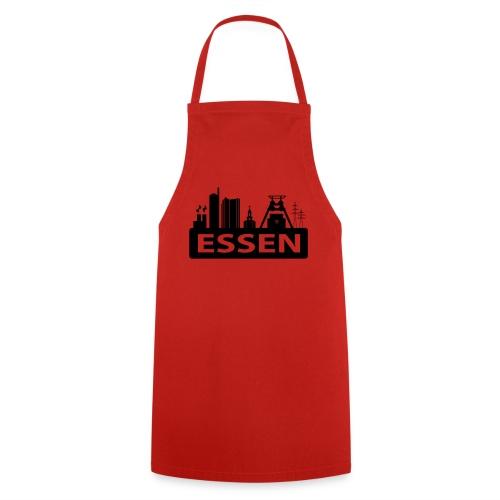 Skyline Essen - T-Shirt - Kochschürze