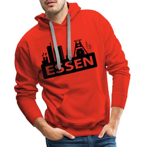 Skyline Essen - T-Shirt - Männer Premium Hoodie