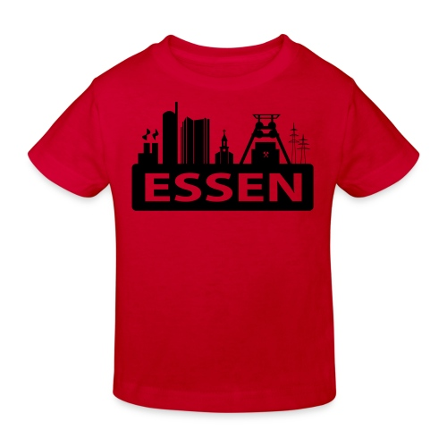 Skyline Essen - T-Shirt - Kinder Bio-T-Shirt