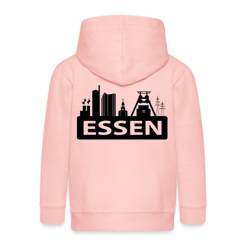Skyline Essen - T-Shirt - Kinder Premium Kapuzenjacke