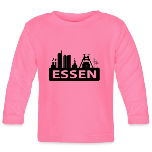 Skyline Essen - T-Shirt - Baby Langarmshirt