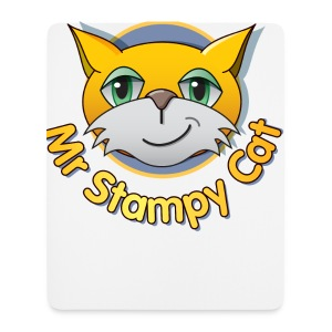 Mr. Stampy Cat - Teddy Bear - Mouse Pad (vertical)