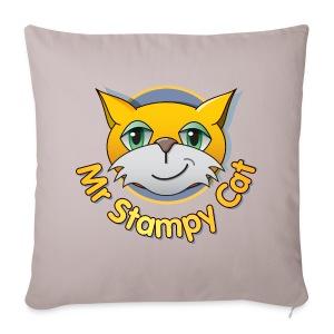 Mr. Stampy Cat - Teddy Bear - Sofa pillow cover 44 x 44 cm