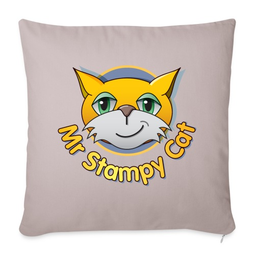 Mr. Stampy Cat - Teddy Bear - Sofa pillow cover 44 x 44 cm