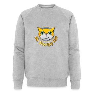 Mr. Stampy Cat - Teddy Bear - Men's Organic Sweatshirt by Stanley & Stella