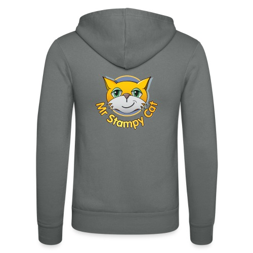Mr. Stampy Cat - Teddy Bear - Unisex Hooded Jacket by Bella + Canvas