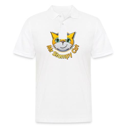 Mr. Stampy Cat - Teddy Bear - Men's Polo Shirt