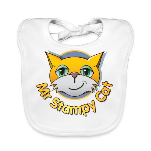 Mr. Stampy Cat - Teddy Bear - Baby Organic Bib