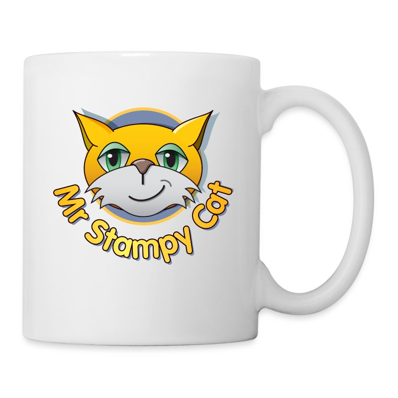 Mr. Stampy Cat - Teddy Bear - Mug