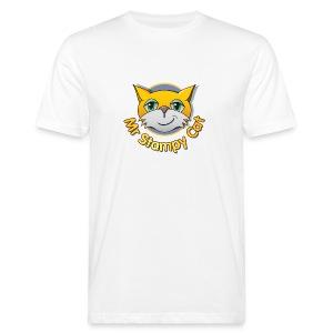 Mr. Stampy Cat - Teddy Bear - Men's Organic T-shirt