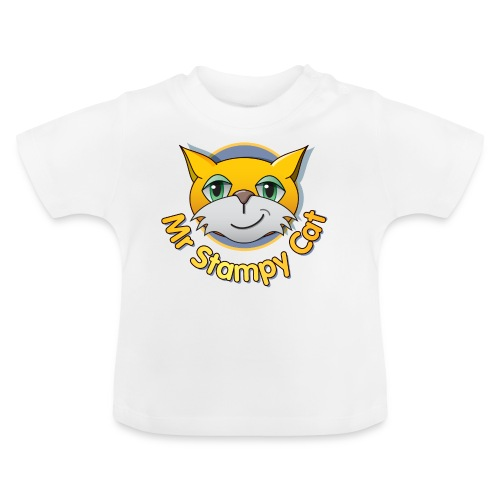 Mr. Stampy Cat - Teddy Bear - Baby T-Shirt