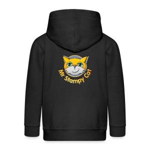 Mr. Stampy Cat - Teddy Bear - Kids' Premium Zip Hoodie