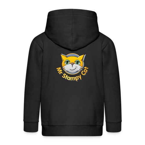 Mr. Stampy Cat - Teddy Bear - Kids' Premium Zip Hoodie