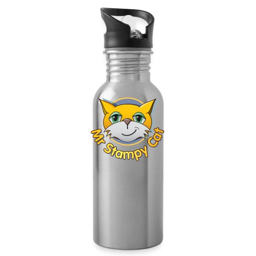 Mr. Stampy Cat - Teddy Bear - Water Bottle