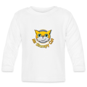 Mr. Stampy Cat - Teddy Bear - Baby Long Sleeve T-Shirt