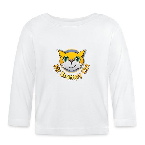 Mr. Stampy Cat - Teddy Bear - Baby Long Sleeve T-Shirt