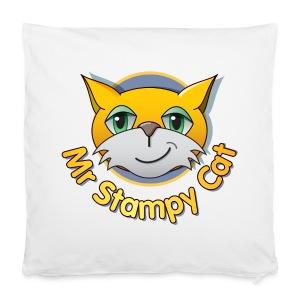 Mr. Stampy Cat - Teddy Bear - Pillowcase 40 x 40 cm