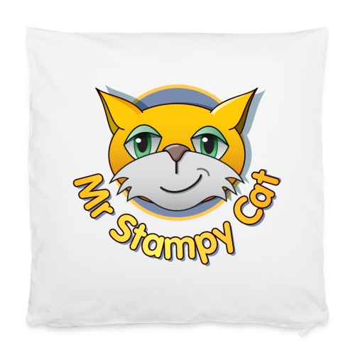 Mr. Stampy Cat - Teddy Bear - Pillowcase 40 x 40 cm