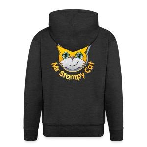 Mr. Stampy Cat - Teddy Bear - Men's Premium Hooded Jacket
