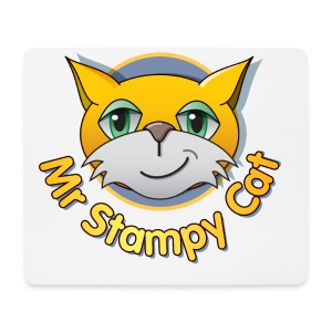 Mr. Stampy Cat - Teddy Bear - Mouse Pad (horizontal)