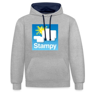 Stampy Logo - Child's T-shirt - Contrast Colour Hoodie