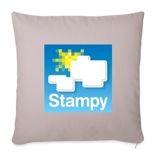 Stampy Logo - Child's T-shirt - Sofa pillow cover 44 x 44 cm