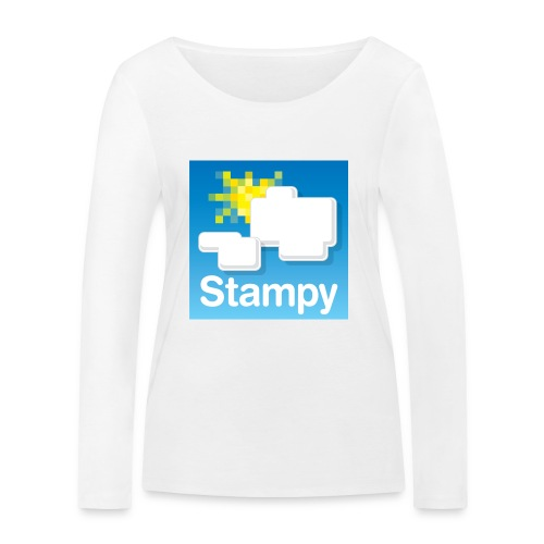 Stampy Logo - Child's T-shirt - Women's Organic Longsleeve Shirt by Stanley & Stella
