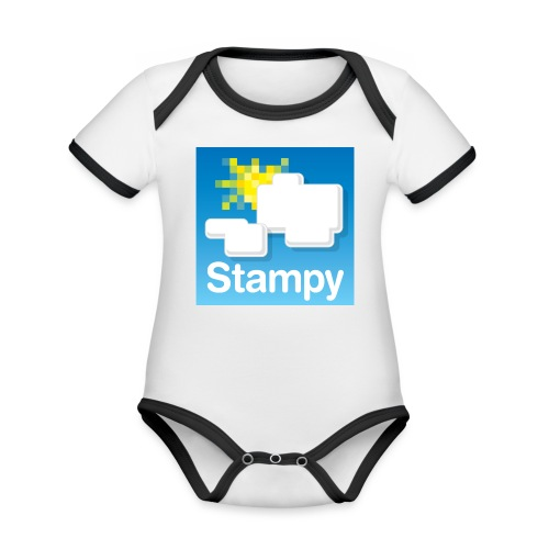 Stampy Logo - Child's T-shirt - Organic Baby Contrasting Bodysuit