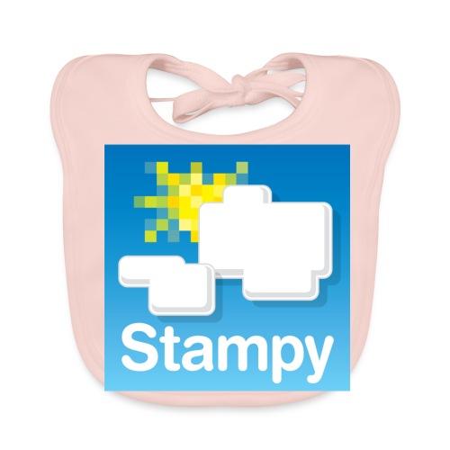 Stampy Logo - Child's T-shirt - Baby Organic Bib