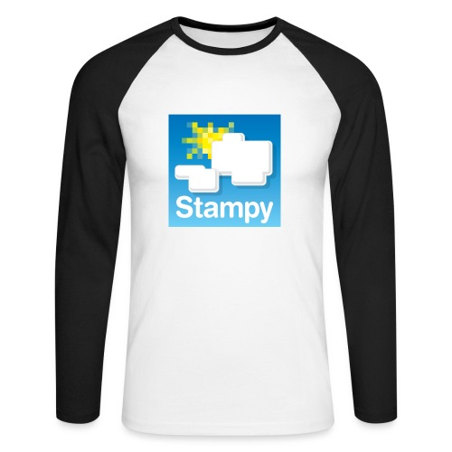 Stampy Logo - Child's T-shirt - Men's Long Sleeve Baseball T-Shirt