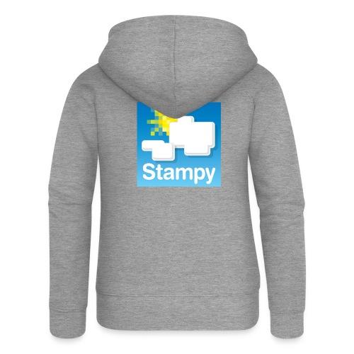 Stampy Logo - Child's T-shirt - Women's Premium Hooded Jacket