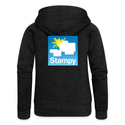 Stampy Logo - Child's T-shirt - Women's Premium Hooded Jacket