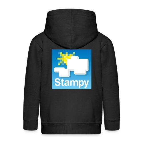 Stampy Logo - Child's T-shirt - Kids' Premium Zip Hoodie