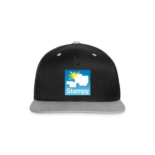Stampy Logo - Child's T-shirt - Contrast Snapback Cap