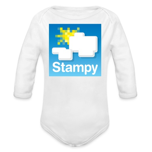 Stampy Logo - Child's T-shirt - Organic Longsleeve Baby Bodysuit